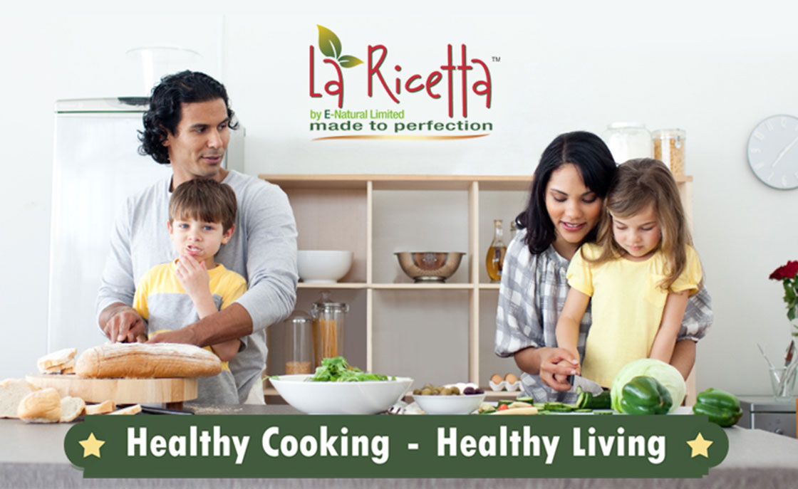 Health cooking healthy living with enaturals