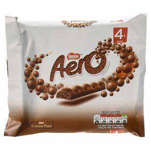 AERO Bubbly Bar Milk Multi Pack 14(4x27g)