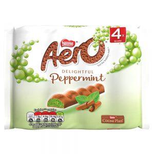 AERO Bubbly Bar Peppermint Multi Pack 14(4x27g)