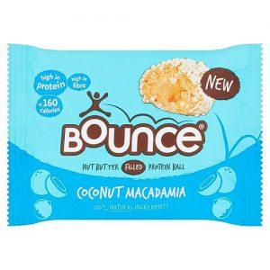 Bounce Coconut Macadamia Protein Ball