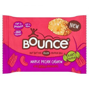 Bounce Vegan Maple Pecan Cashew Protein Ball