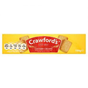 Crawfords Custard Creams Biscuits 150g
