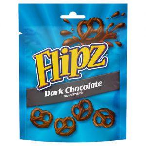 Flipz Pouches Dark Chocolate Pretzels 100g