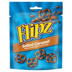 Flipz Pouches Salted Caramel Pretzels 90g