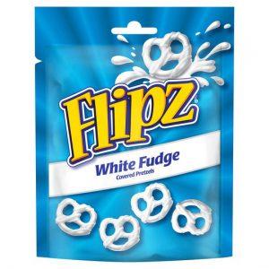 Flipz Pouches White Fudge Pretzels 90g