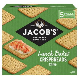 Jacobs Lunch Bakes Chive Crispbreads 190g