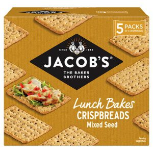 Jacobs Lunch Bakes Mix Seed Crispbreads 190g