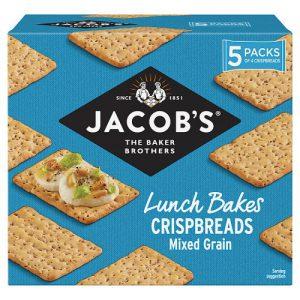 Jacobs Mixed Grain Crispbreads 190g