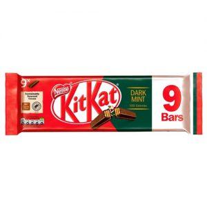 Kit Kat 2F Dark Mint 9 Pack 186.3g