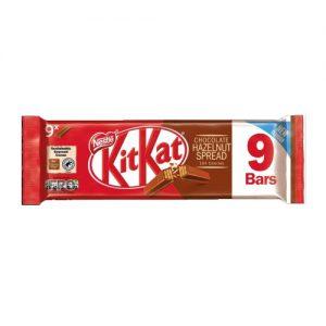 Kit Kat 2F Hazelnut 9 Pack 186.3g