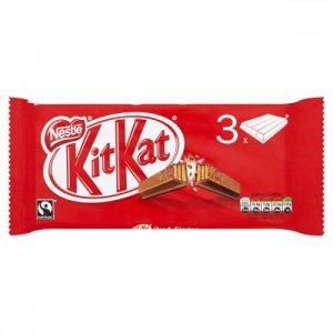 Kit Kat 4Finger Milk Chocolate 3 Bars Multi-Pack 124.5G