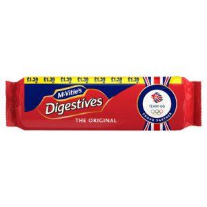 McVities Digestives Original Biscuits 400g PMP £1.39
