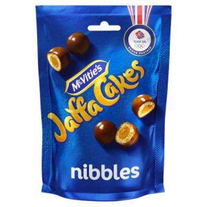 McVities Jaffa Cakes Nibbles Chocolate Bag 100g