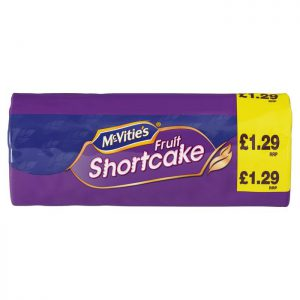 McVities Fruit Shortcake 200g PMP £1.29