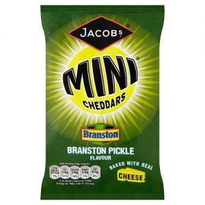 Jacobs Mini Cheddars Grab Bag Branston Pickle 50g