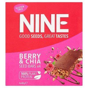 NINE Berry & Chia Seed Bars