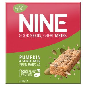 NINE Pumpkin & Sunflower Seed Bar