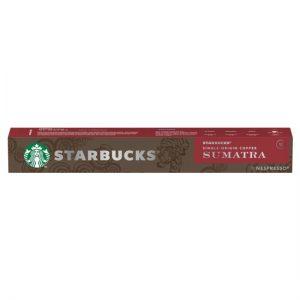Nespresso Starbucks Sumatra Espresso Coffee Pods