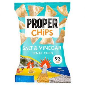 Properchips Salt & Vinegar Lentil Chips 20g