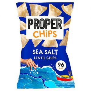 Properchips Sea Salt Lentil Chips 20g