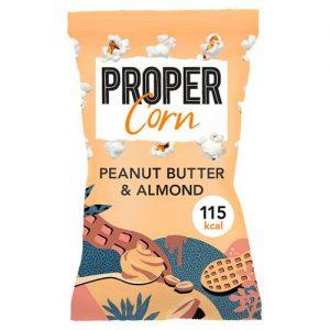 Propercorn Peanut Butter & Almond Popcorn 25g