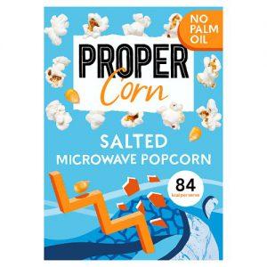 Propercorn Salted Microwave Popcorn 3 x 70g (210g)