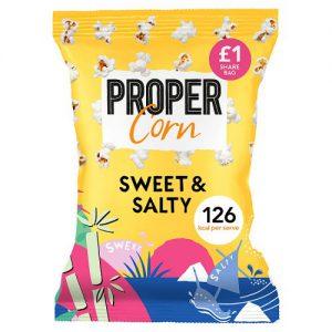 Propercorn Sweet & Salty Popcorn 60g