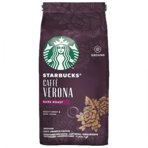 Starbucks Dark Caffe Verona, Coffee Beans, 200g