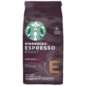 Starbucks Dark Espresso Roast, Coffee Beans, 200g