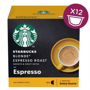 Starbucks Dolce Gusto - Blonde Espresso Roast (12 Capsules)