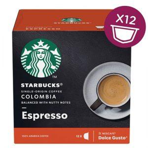 Starbucks Dolce Gusto - Colombia Espresso (12 Capsules)