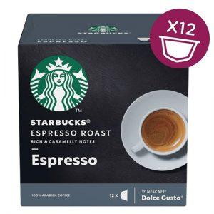 Starbucks Dolce Gusto - Dark Espresso (12 Capsules)