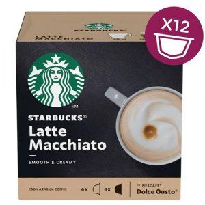 Starbucks Dolce Gusto - Latte Macchiato (12 Capsules)