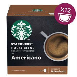 Starbucks Dolce Gusto - Medium House Blend (12 Capsules)