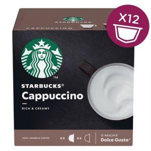 Starbucks Dolce Gusto - White Cappuccino (12 Capsules)