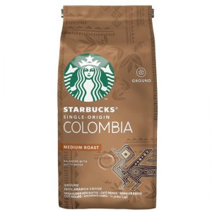 Starbucks Medium Colombia Roast, Coffee Beans, 200g