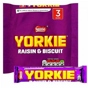 YORKIE Raisin & Biscuit Multi Pack 16(3X44g)