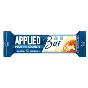 Applied Protein Crunch Bar White Choc Caramel 60G X 12 Units