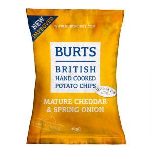 Burts Mature Cheddar & Spring Onion