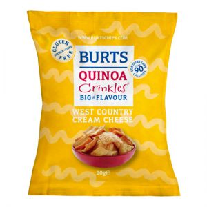 Burts Quinoa Crinkles West Country Cream Cheese