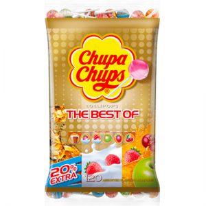 Chupa Chups The Best of Lollipops Bag 120pc