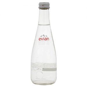Evian 20 x 33cl glass