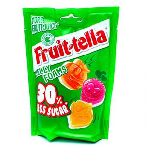 Fruit-tella 30% Less Sugar Gummies 120g