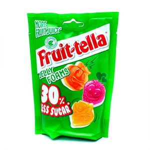 Fruit-tella 30% Less Sugar Jelly Foams 120g
