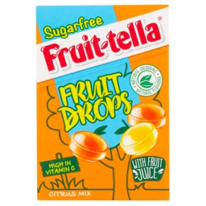 Fruit-tella Sugar Free Fruit Drops - Citrus Mix 45g