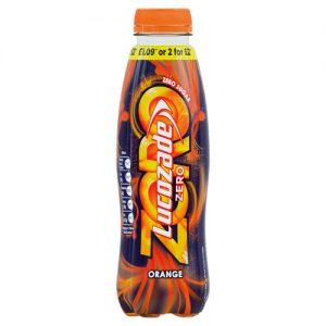 Lucozade Energy ZERO Orange 380ml PMP £1.19 or 2 for £2.20