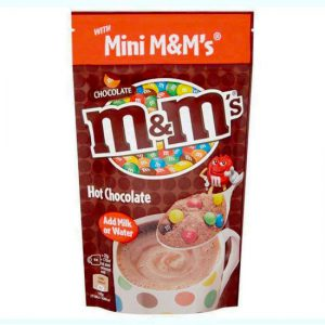 M&M's Instant Hot Chocolate Treat Pouch 140g