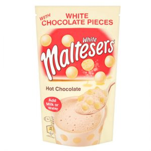 Maltesers White Instant Hot Chocolate Treat Pouch 140g