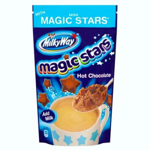 Milky Way Instant Hot Chocolate With Milky Way Stars Treat Pouch 140g