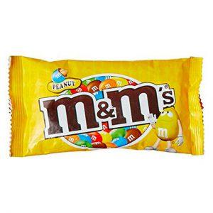 M&M's Peanut Single 45g 24x1